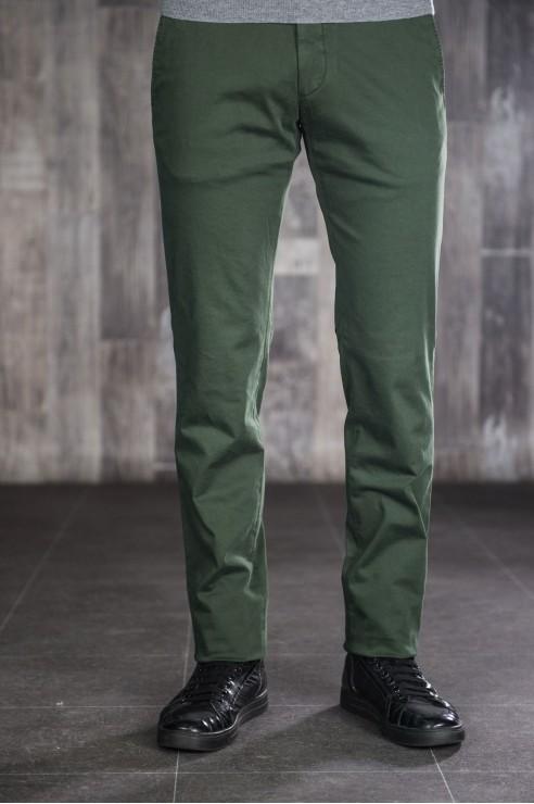 Pantalon Chino Vert