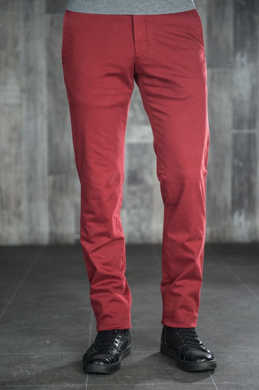 Pantalon Chino Bordeau