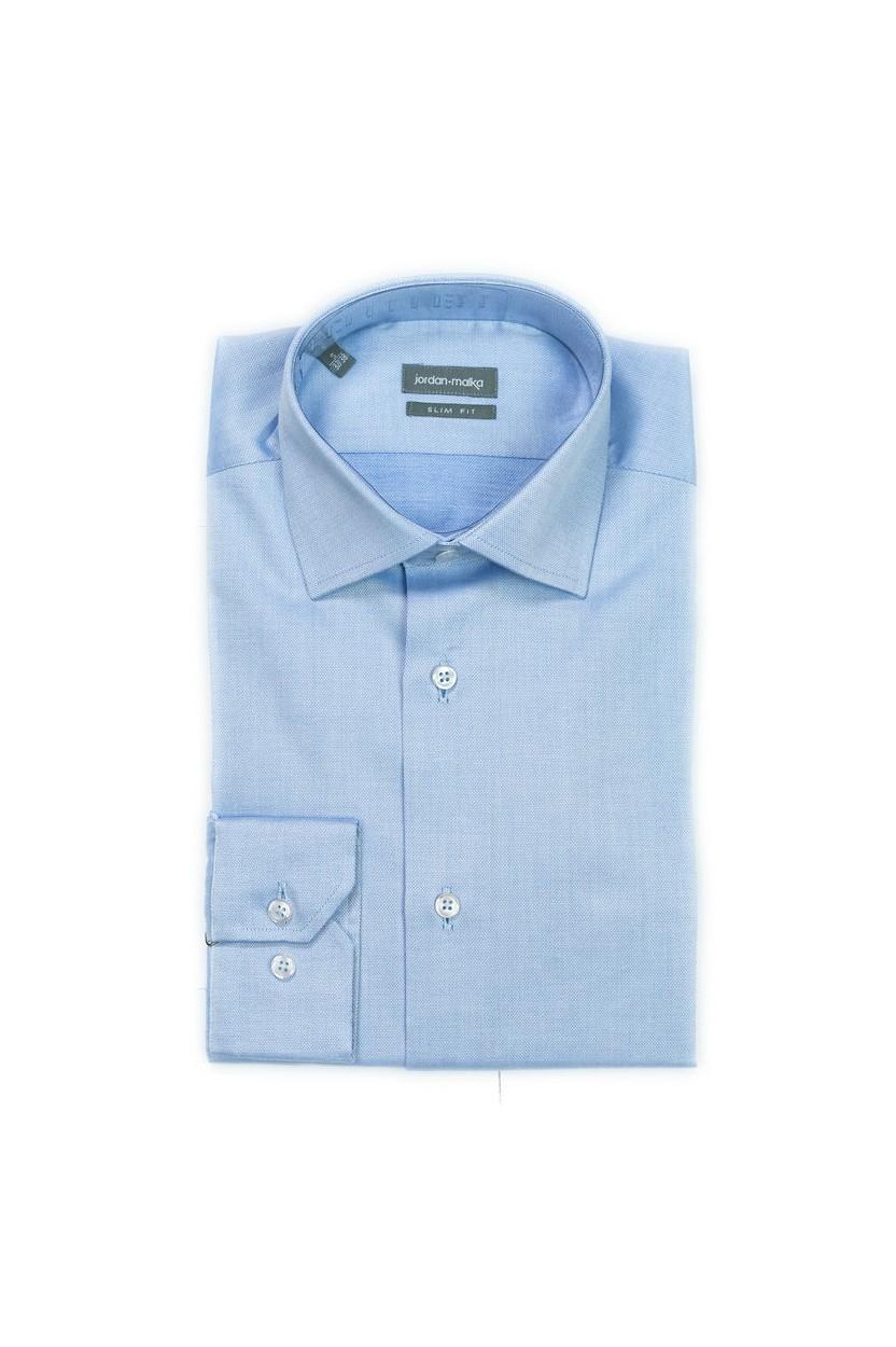 Chemise Bleu Texturé
