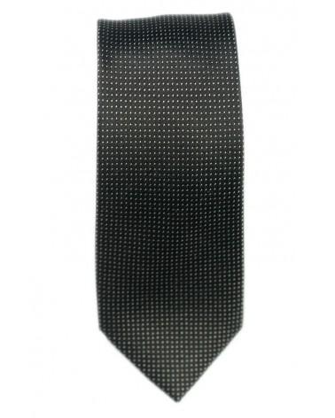 Cravate Noire Pois Blanc