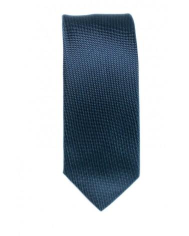 Cravate Bleue Micro Pois Ciel