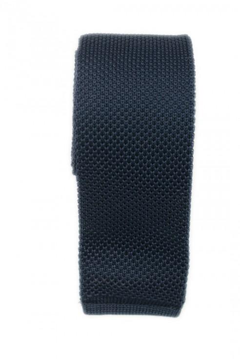 Cravate Tricot Marine