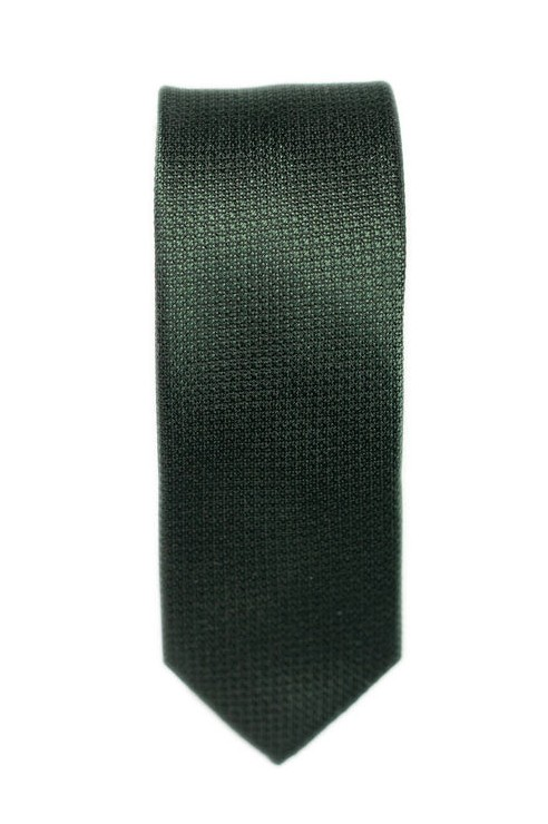 Cravate Verte Texturée